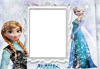 An inscription on the frame: Frozen